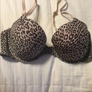 Victoria secret the naked lined Demi bra size 34C